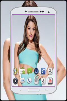 Nikki wwe Bella HD Wallpaper screenshot 5