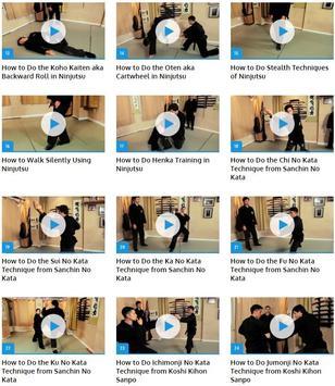 Ninjutsu Techniques apk screenshot