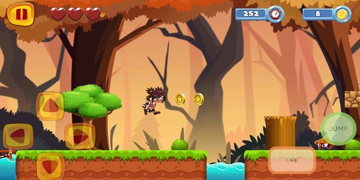 Ninja Mission Adventure screenshot 1