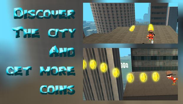 Ninja Surfer : City Revenge apk screenshot