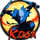 KOGA ninja platformer icon