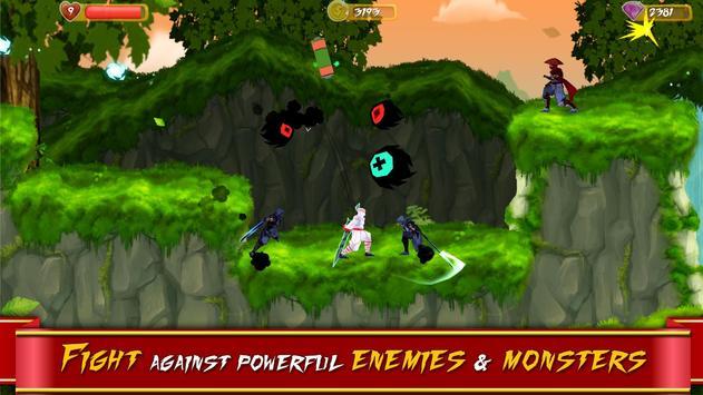 KOGA ninja platformer poster