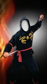 Ninja Photo Editor FREE screenshot 1
