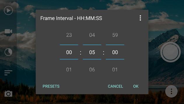Framelapse - Time Lapse Camera apk screenshot