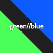 green//blue icon