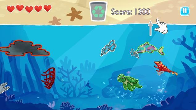 Jack the Super Prawn: Ocean Hero screenshot 1