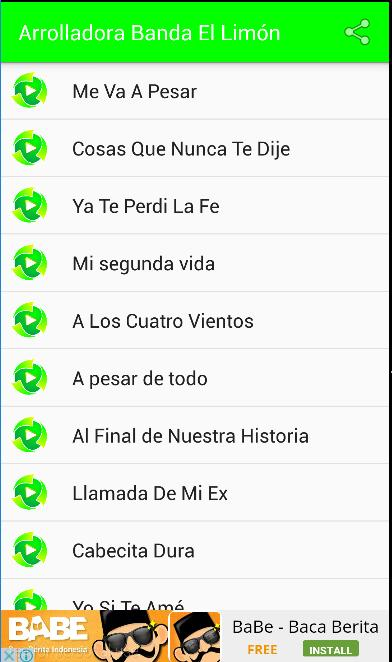 Arrolladora Banda El Limón For Android Apk Download