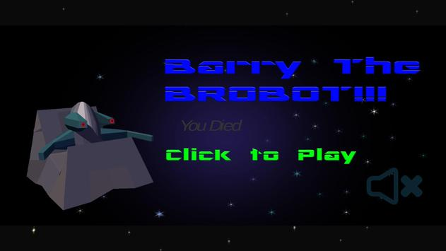 Barry The Brobot poster