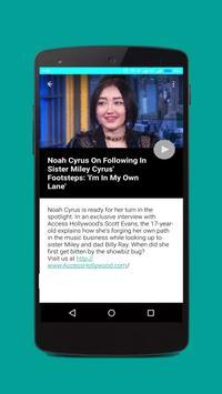 Noah Cyrus Songs and Videos apk screenshot