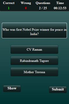 Nobel Prize Quiz screenshot 3