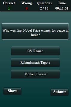 Nobel Prize Quiz screenshot 3