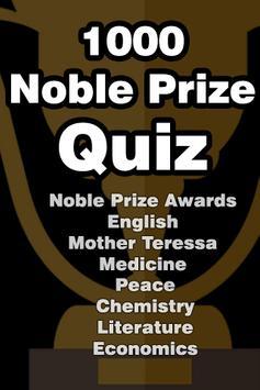 Nobel Prize Quiz poster