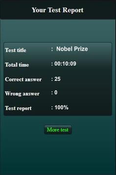 Nobel Prize Quiz screenshot 11