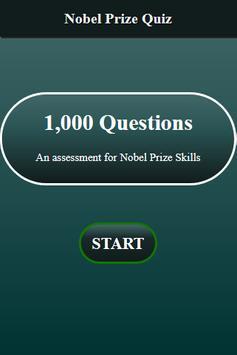 Nobel Prize Quiz screenshot 1