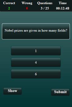 Nobel Prize Quiz screenshot 4