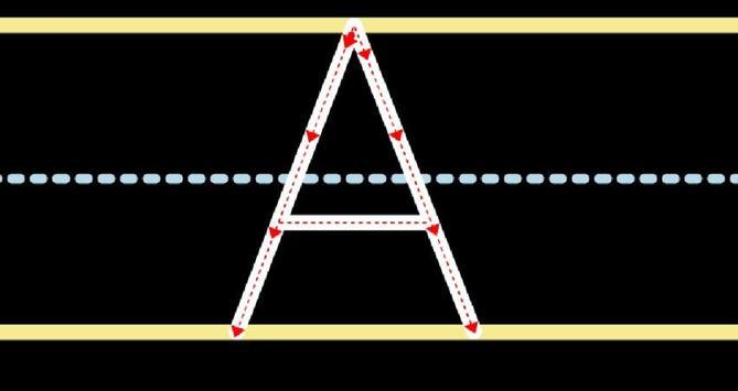 Writing alphabet and number apk screenshot