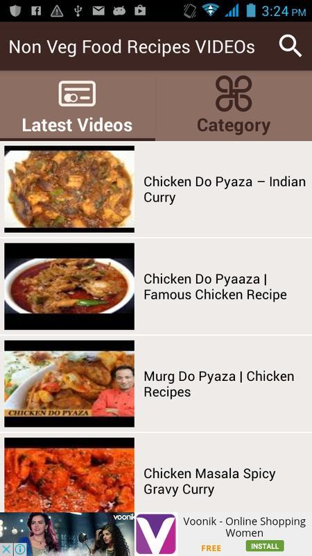 Non veg food recipes videos descarga apk gratis entretenimiento non veg food recipes videos captura de pantalla de la apk forumfinder Gallery