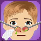 nose care game icon