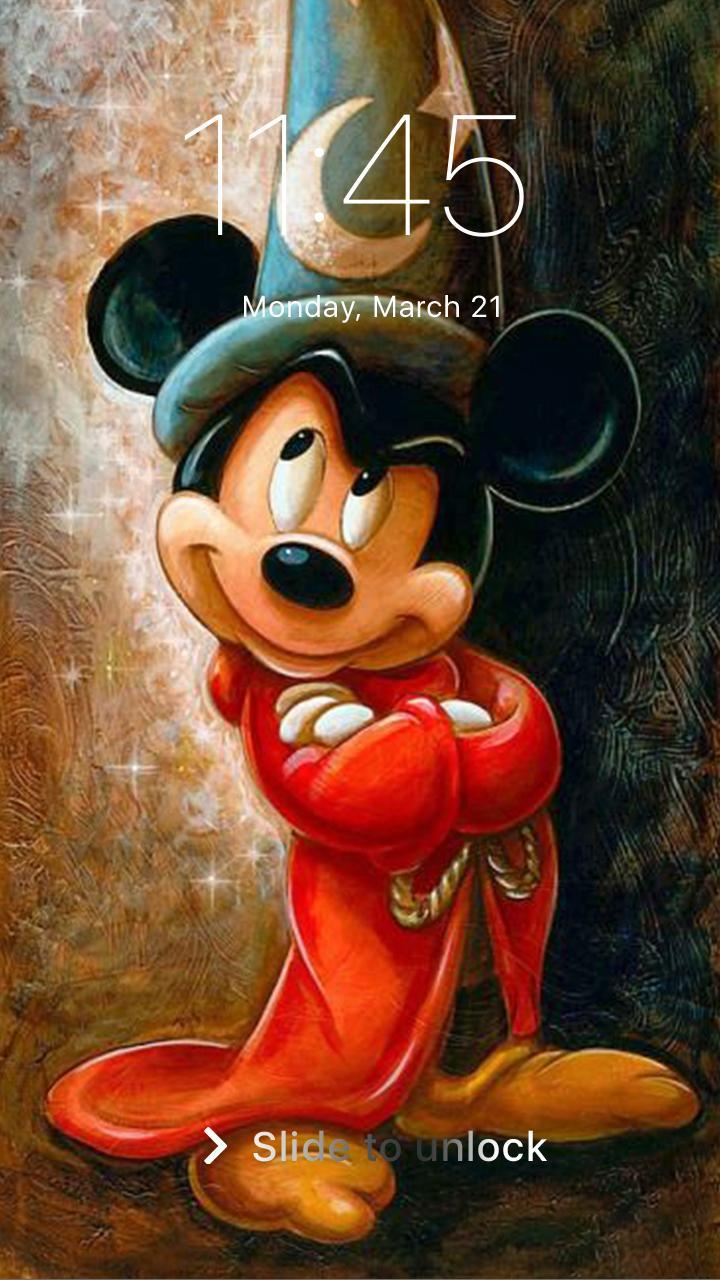 Mickey Minnie Mouse Pin Lock Screen Wallpaper For
