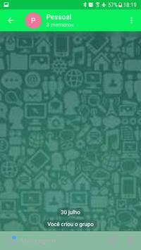 NowZap - App de Mensagens Seguro Rapido e Facil!!! apk screenshot