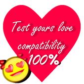 Real love test calculator true english ! <3 icon
