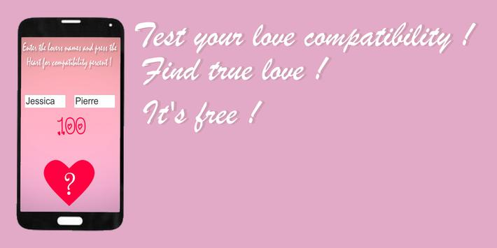 Real love test calculator true english ! <3 poster