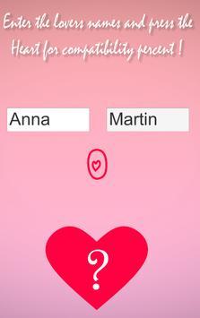 Real love test calculator true english ! <3 screenshot 1