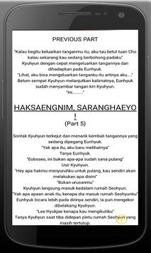Novel Kisah Cinta Romantis screenshot 6