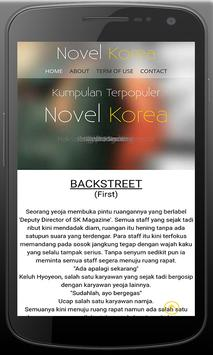 Novel Kisah Cinta Romantis screenshot 2