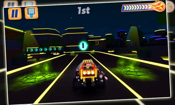 Blaze Monster Light Riders screenshot 1