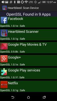 Noxiter Heartbleed Scanner screenshot 1