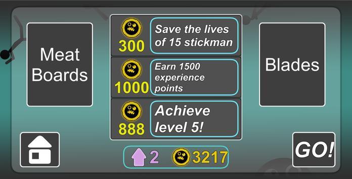 Stickman Slice screenshot 2