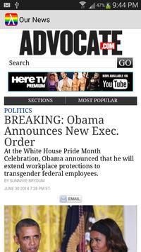 Our News apk screenshot