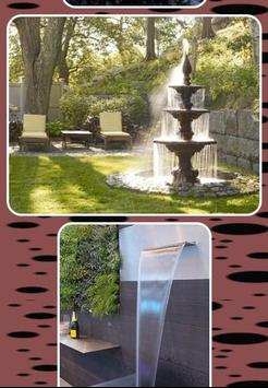 Outdoor Garden Water Fountains Ideas screenshot 7
