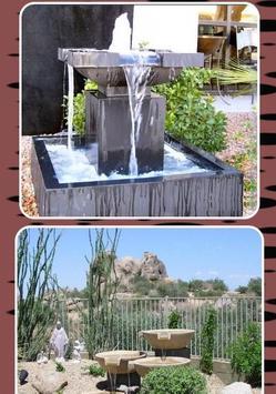 Outdoor Garden Water Fountains Ideas screenshot 2