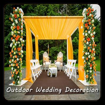 Outdoor Wedding Decoration poster