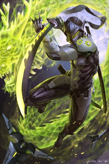 Overwatch Hd Wallpaper For Genji For Android Apk Download