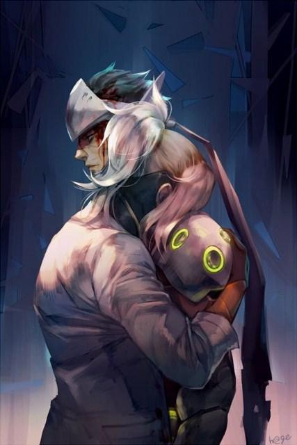 Overwatch Hd Wallpaper For Genji Fur Android Apk Herunterladen