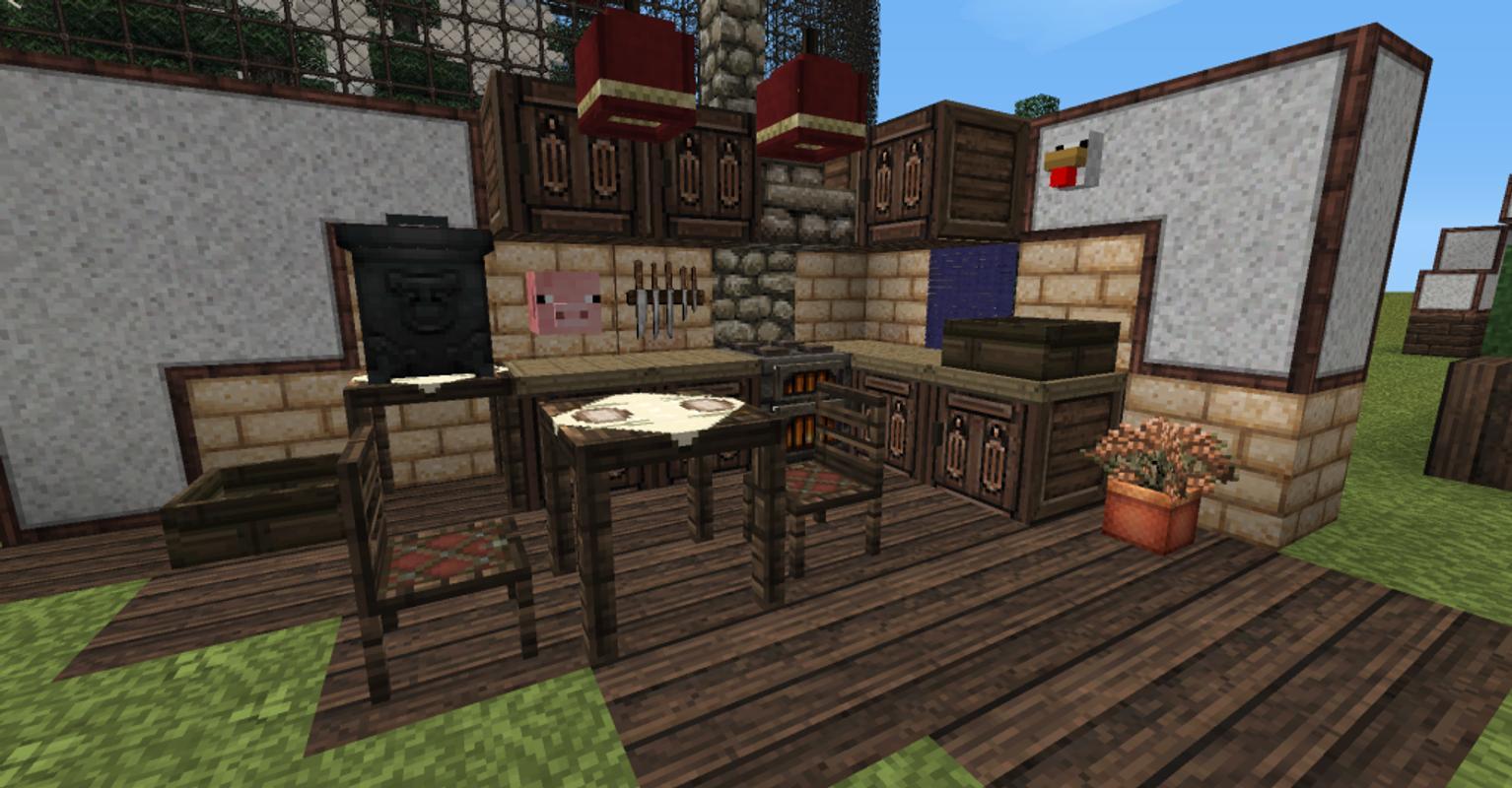 моды на майнкрафт мебель 1.7.2 #10