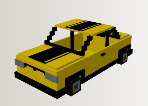 Car Mech Mod Minecraft Pe poster