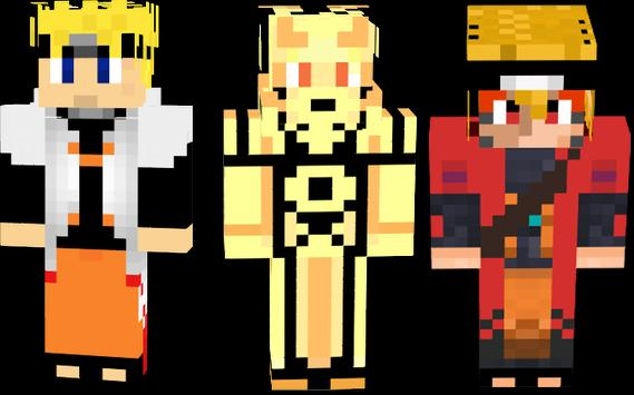 Mod Naruto For Minecraft Pe APK Download Free Arcade GAME For - Skins para minecraft pe de naruto
