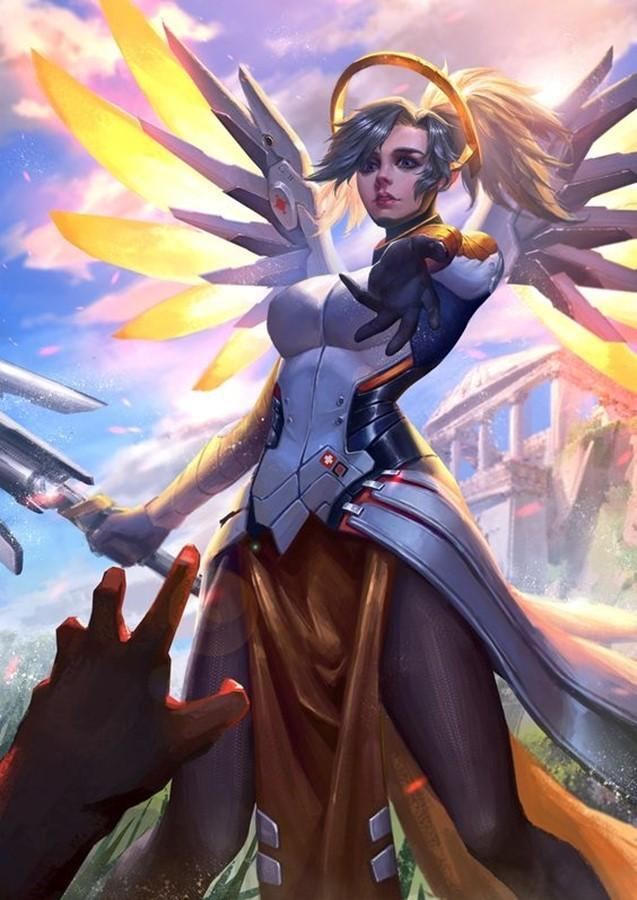 Best Overwatch Mercy Wallpaper For Android Apk Download