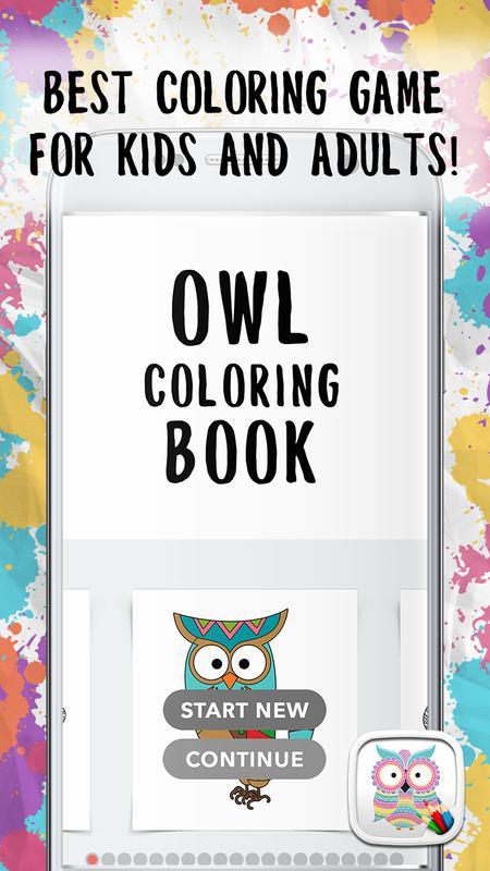 Libro para colorear búho Descarga APK - Gratis Entretenimiento ...