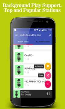 Radio Costa Rica Live apk screenshot