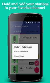 Radio Bolivia Live apk screenshot