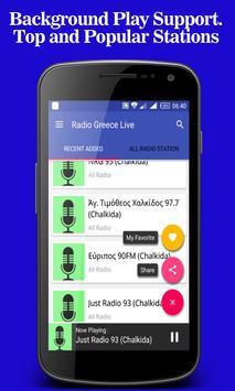 Radio Greece Live apk screenshot