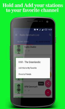 Radio Denmark Live apk screenshot