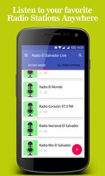 Radio El Salvador Live poster