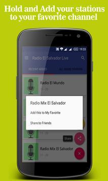 Radio El Salvador Live apk screenshot