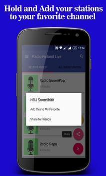 Radio Finland Live apk screenshot